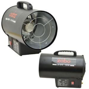 Portable LPG Gas Forced Space Heaters l Powerstarelectricals.co.uk